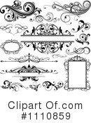 Royalty-Free (RF) Design Elements Clipart Illustration #1110859