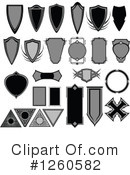 Royalty-Free (RF) Design Elements Clipart Illustration #1260582