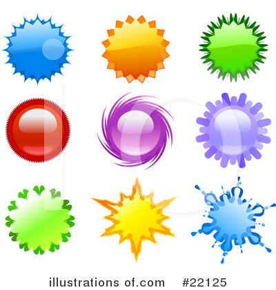 Royalty-Free (RF) Design Elements Clipart Illustration by Tonis Pan - Stock Sample #22125