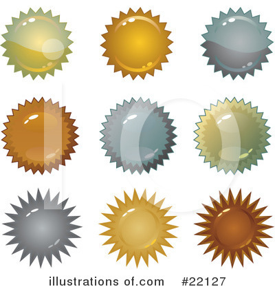 Royalty-Free (RF) Design Elements Clipart Illustration by Tonis Pan - Stock Sample #22127