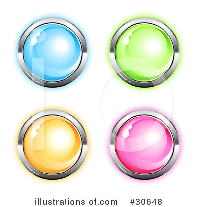 Royalty-Free (RF) Design Elements Clipart Illustration by beboy - Stock Sample #30648