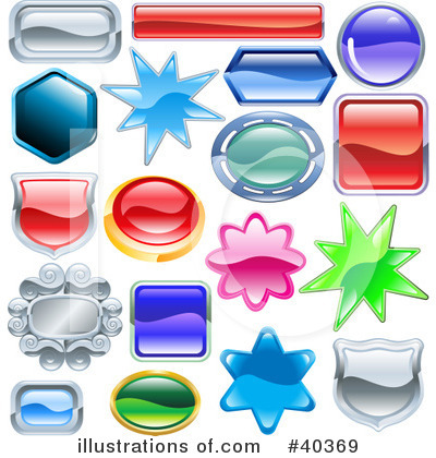 Royalty-Free (RF) Design Elements Clipart Illustration by Geo Images - Stock Sample #40369