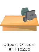 Desk Clipart #1118238 by Graphics RF