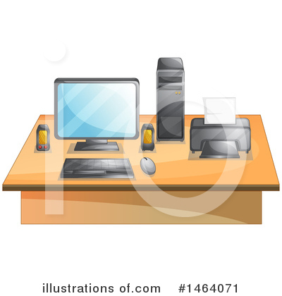Office Clipart #1464071 by Graphics RF