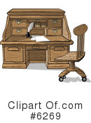 Desk Clipart #6269 by djart