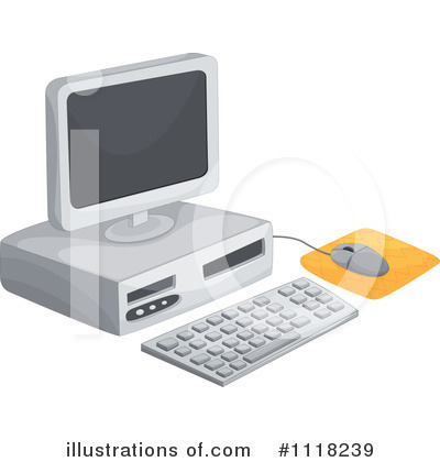 Computer Clipart #1118239 by Graphics RF