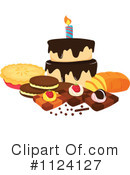 Dessert Clipart #1124127 by Graphics RF