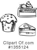 Dessert Clipart #1355124 by Vector Tradition SM