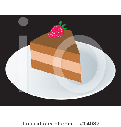 Royalty-Free (RF) Dessert Clipart Illustration by Rasmussen Images - Stock Sample #14082
