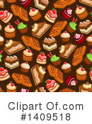 Dessert Clipart #1409518 by Vector Tradition SM