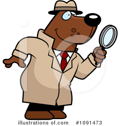 Detective Clipart #1091473 by Cory Thoman