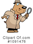 Detective Clipart #1091476 by Cory Thoman