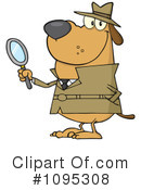 Detective Clipart #1095308 by Hit Toon