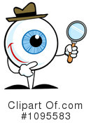 Royalty-Free (RF) Detective Clipart Illustration #1095583