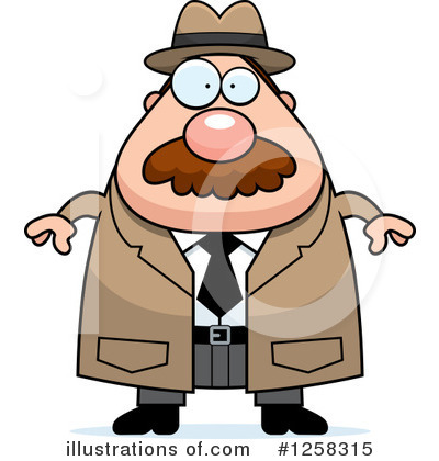 Detective Clipart #1258315 by Cory Thoman
