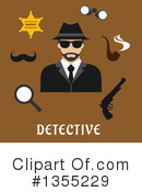Detective Clipart #1355229 by Vector Tradition SM