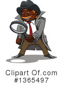 Detective Clipart #1365497 by Vector Tradition SM