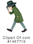 Detective Clipart #1467719 by Graphics RF
