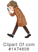 Detective Clipart #1474606 by Graphics RF