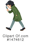 Detective Clipart #1474612 by Graphics RF