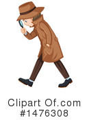 Detective Clipart #1476308 by Graphics RF