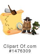 Detective Clipart #1476309 by Graphics RF