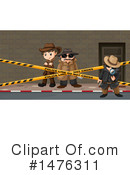 Detective Clipart #1476311 by Graphics RF