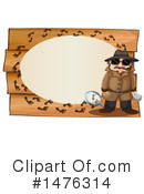 Detective Clipart #1476314 by Graphics RF
