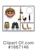 Detective Clipart #1667146 by Steve Young