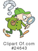 Detective Clipart #24643 by gnurf