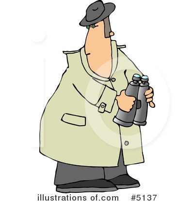 Detective Clipart #5137 by djart