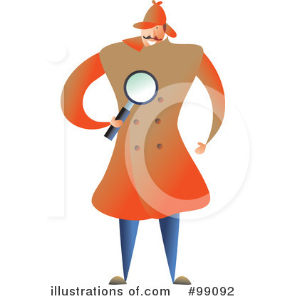 Rf detective clipart illustration by prawny stock sle 99092
