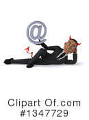 Devil Black Businessman Clipart #1347729 by Julos