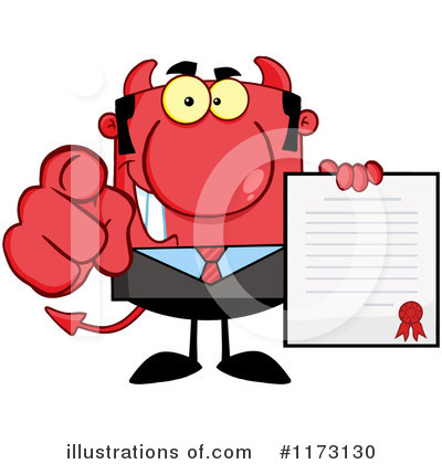 Businessman Clipart #1173130 by Hit Toon