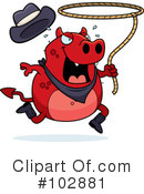 Royalty-Free (RF) Devil Clipart Illustration #102881
