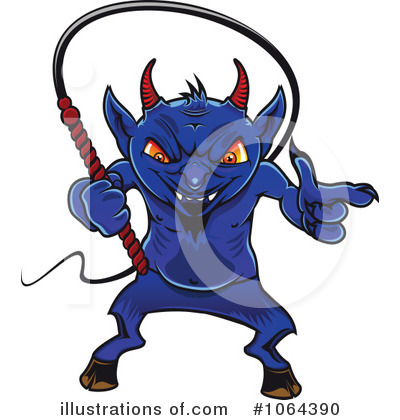 Demon Clipart #1064390 by Vector Tradition SM