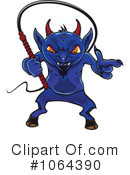 Royalty-Free (RF) Devil Clipart Illustration #1064390