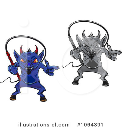 Demon Clipart #1064391 by Vector Tradition SM