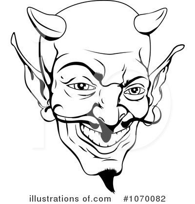 Devil Clipart #1070082 - Illustration by AtStockIllustration