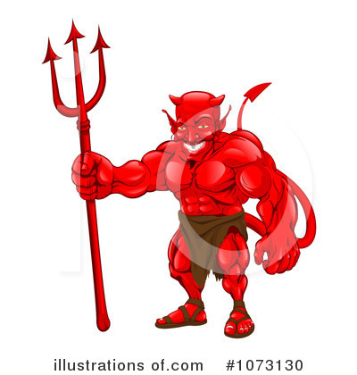 Devil Clipart #1073130 by AtStockIllustration