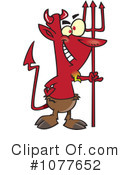 Royalty-Free (RF) devil Clipart Illustration #1077652