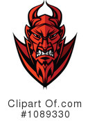 Royalty-Free (RF) devil Clipart Illustration #1089330