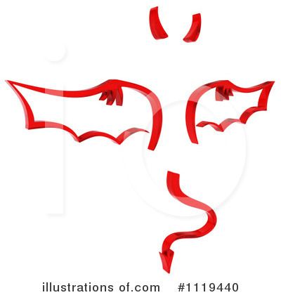 Demon Clipart #1119440 by KJ Pargeter