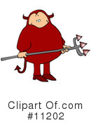 Royalty-Free (RF) devil Clipart Illustration #11202