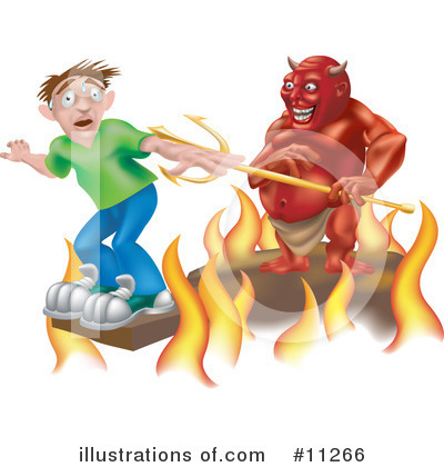 Royalty-Free (RF) Devil Clipart Illustration by AtStockIllustration - Stock Sample #11266