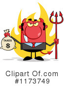 Devil Clipart #1173749 by Hit Toon