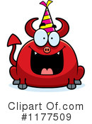 Royalty-Free (RF) devil Clipart Illustration #1177509