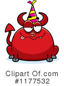 Royalty-Free (RF) devil Clipart Illustration #1177532