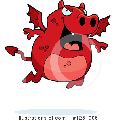 Royalty-Free (RF) Devil Clipart Illustration by Cory Thoman - Stock Sample #1251906