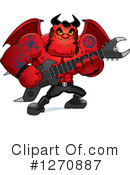 Devil Clipart #1270887 by Cory Thoman